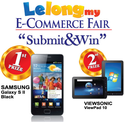 lelong.my e-commerce fair submit and win contest